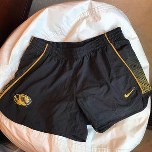 University of Missouri Nike Shorts